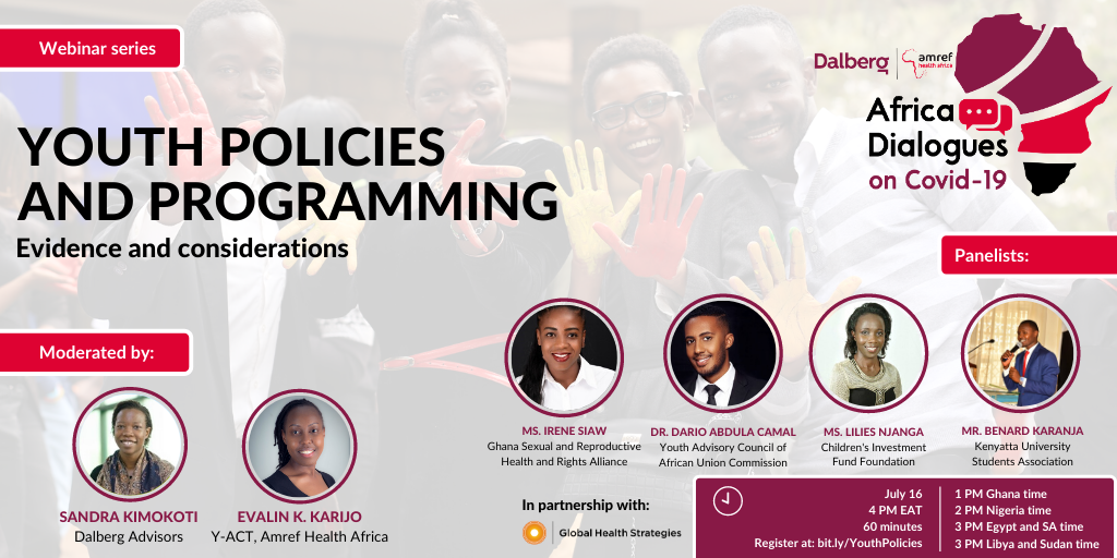 Youth policies and programming Evidence and considerations