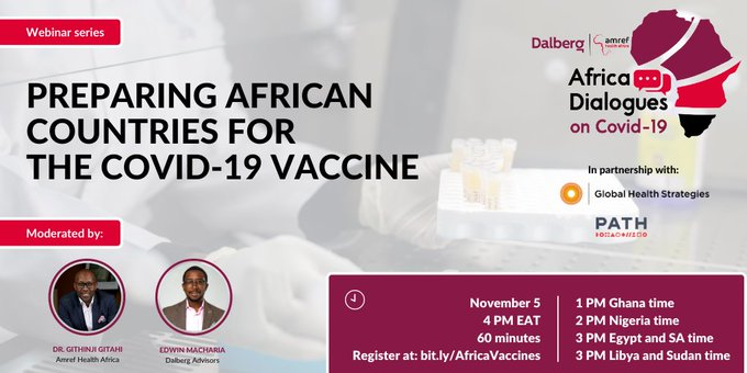 Preparing African Countries for the #COVID19Vaccine